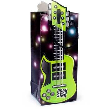 Guitar Shaped Treat Bags (1 dz) by Fun Express -