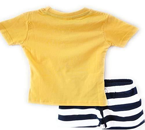 SHLOK'S Boys 100% Cotton T-Shirt and Shorts Set