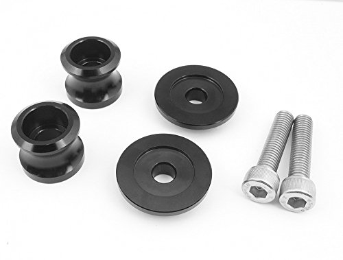 CNC Hot sales Racing Dirt Motorcycle Accessories Swingarm Sliders Spools Black Fit For Suzuki 8mm DL1000/V-STROM 2002-2010