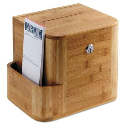Safco Bamboo Suggestion Boxes