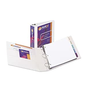 Avery Nonstick Heavy-Duty 2 Inch White View Binder (5504)