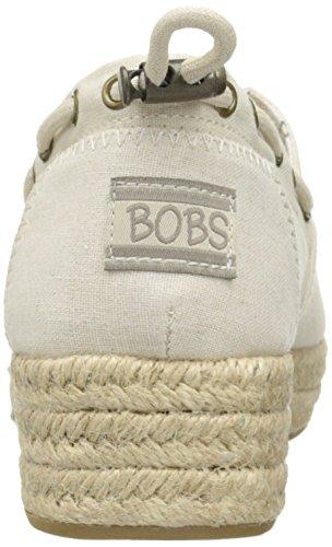 Skechers Bobs Fra Kvinders Højdepunkter Flexpadrille Kile Naturlige Sejl 97ws0