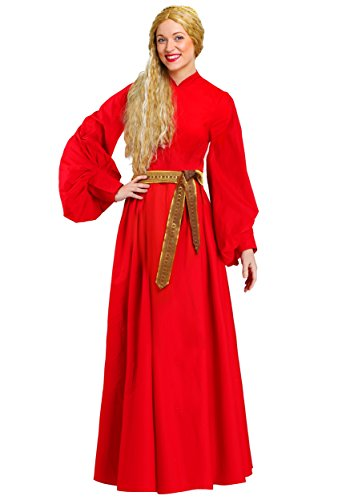 Toddler Red Peasant Dress (Plus Size Buttercup Peasant Dress Costume 2X)