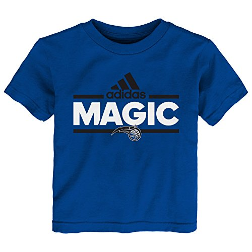 OuterStuff NBA Toddler Orlando Magic Mini Dassler Short Sleeve Tee-Royal-2T - Orlando Magic Mini Basketball