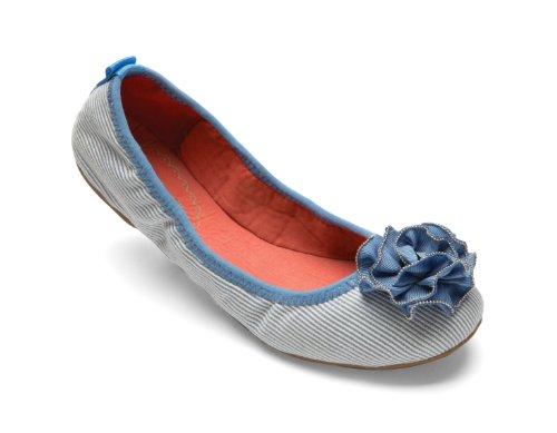 Lindsay Phillips , Ballerines pour femme Bleu bleu 37.5