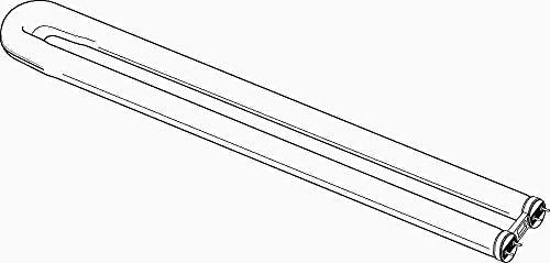 Sylvania Octron 800 Curvalume U-Bend Fluorescent Lamp T8, 3500K, 82 Cri, Medium Bipin, 22.5 In., 31 Watt, 15 Per Case by Osram