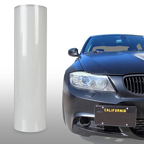 Optix Clear Bra Headlight Bumper Hood Paint Protection Guard Film Vinyl Sheet Roll - 12