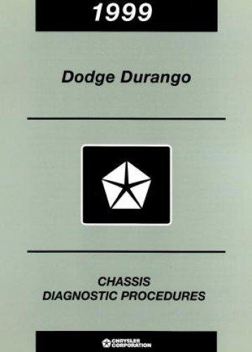 81-699-98075 Dodge Durango Chassis Diagnostic Procedures Manual 1999 Used