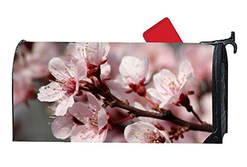 FunnyLife Shimmering Mailbox Makover Cover Plum Blossom Flower Mailbox Covers Yard,Garden,Home -