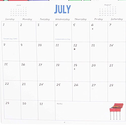 2018 Hallmark Maxine Wall Calendar (12 month) Photo #2
