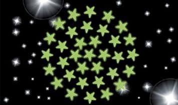 Leuchtsterne fürs Kinderzimmer, 102 Sterne: Amazon.de: Spielzeug
