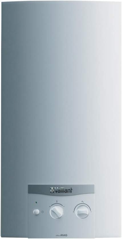 Vaillant 10022573 - Calentador de agua a gas modelo ATMOMAG 14/1 GPL, color blanco