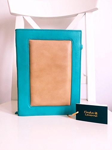 Flaska Laverne - Cartera de mano Mujer Bookia Turquoise Cream