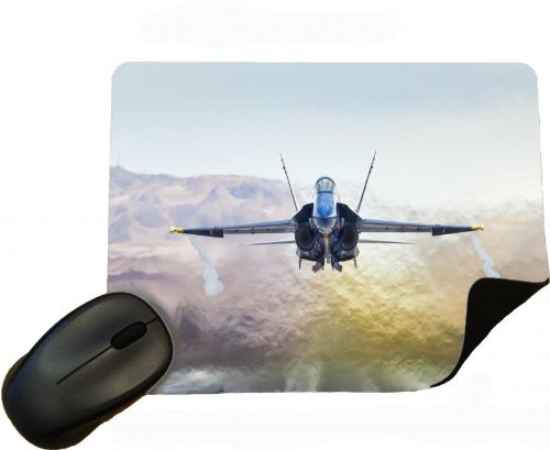 18a Hornet (Eclipse Gift Ideas Aviation Mcdonnel Douglas Fa-18A Hornet - Mouse Mat / Pad)