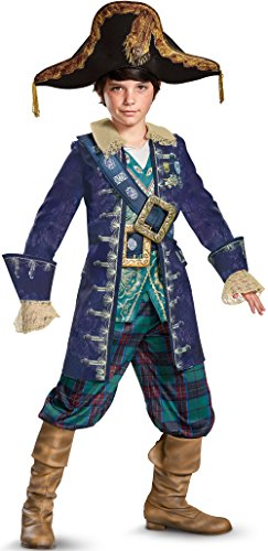 Disney POTC5 Barbosa Deluxe Costume,  Multicolor,  Large (10-12) -