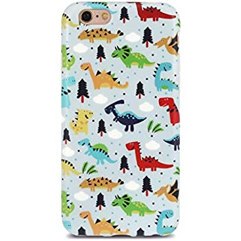 info for 40a78 c95f2 GOLINK iPhone 6 Case for Girls/iPhone 6S Case, Cute Dinosaurs Matte Finish  Slim-Fit Ultra-Thin Anti-Scratch Shock Proof Dust Proof Anti-Finger Print  ...