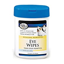 Four Paws 100202124 Eye Wipes for Dogs and Cats, 30-Count