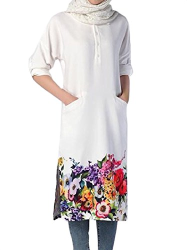 arab white dress - 5