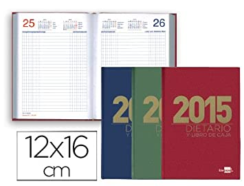 DIETARIO LIDERPAPEL 2015 OCTAVO 12X16,5 CM: Amazon.es ...