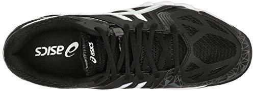 Asics Mens Gel-court Shoe Pallavolo Controllo Nero / Bianco / Grafite
