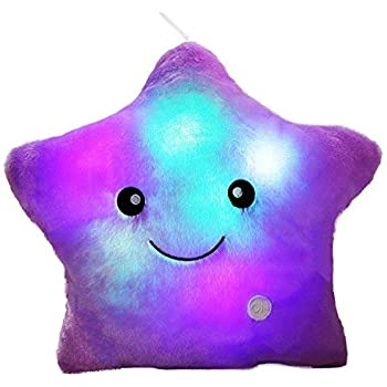 Amazon.com: Bright Light Pillow Twinkling Star (White) by ...
