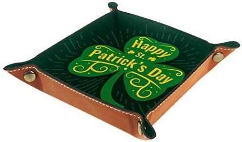 FURINKAZAN Valet Tray Change Caddy Bedside Opbergdoos Gelukkige St Patricks Dag