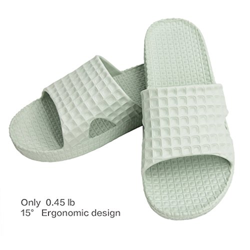 POSIEO Bath Slippers For Women or Men,Non Slip Shower Shoes,Soft House Shoes and Quick Drying Summer Slippers Suitable For Wash Room Bathroom Bedroom Spa Swimming Poolside Indoor & Outdoor