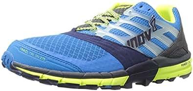 Inov-8 Men's Trailtalon 275-M Trail Runner, Blue/Navy/Grey/Lime, 8 M US