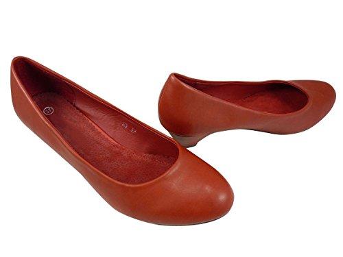 Similicuir Petit Rouge À Escarpins Talon Chaussures PnIAUBqn