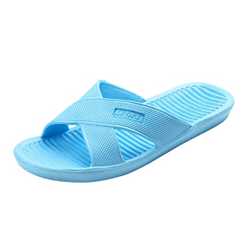 Jiyaru Bath Slipper Unisex Anti-Slip Home Shoes Indoor Floor Slide