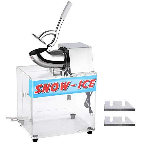 Koval Inc. Electric Snow Cone Maker Ice Shaver Machine Acrylic Box