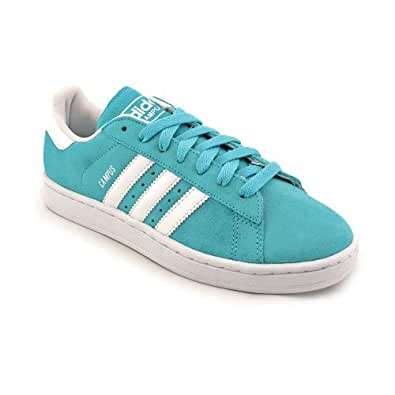 Adidas Originals Campus II Basketball Shoes Cyan/White men's 9