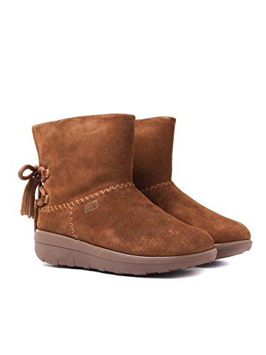 FitFlop Womens Mukluk Shorty II Boot Chestnut