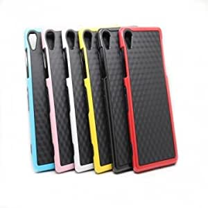 Double Color Bumblebee TPC PC Back Cover Case For SonyZ2