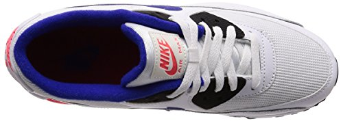 Bleu solar black Red Baskets Ultramarine 90 Air Blanc Nike 136 Homme White Max Essential wA8UqFS