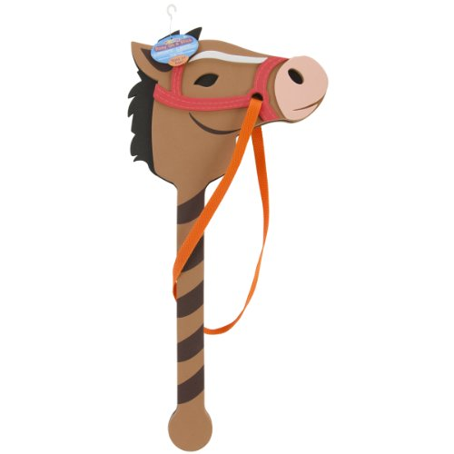 Horse On A Stick Toy (Foamies® Horse on a Stick - Assorted Colors - 22 to 24 inches)