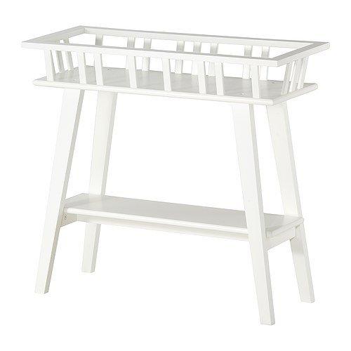 IKEA LANTLIV - Plant stand, white - 68 cm