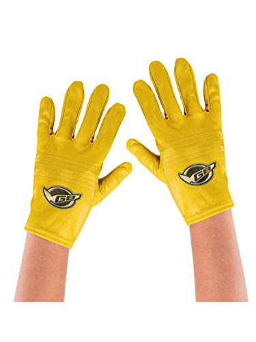 Disguise Yellow Ranger Beast Morpher Child Gloves Costume Accessory ()