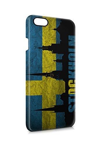 3D iPhone 7 Schweden Stockholm 1 case Tasche Hülle Case Cover Schutz Handy