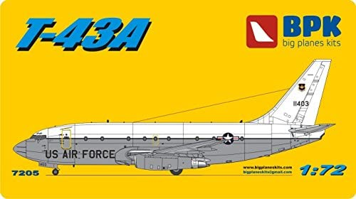 Amazon com: AIRCRAFT Boeing 737-200 T-43A - 1/72 BPK 7205