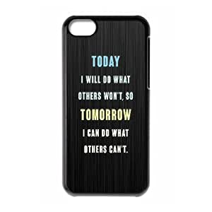 iPhone 5C Phone Case Inspirational Quotes AL390141