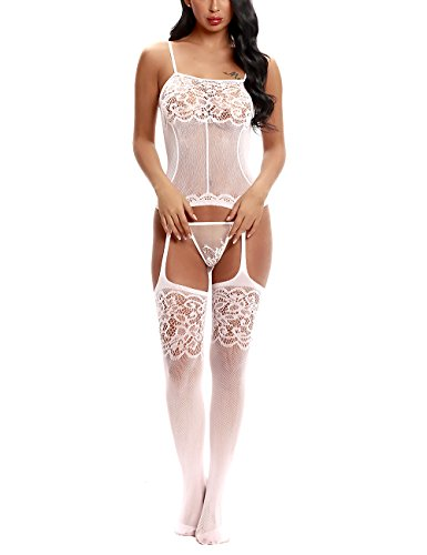 3a724a315 Vextronic Crotchless Bodystocking for Women
