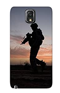 Galaxy Note 3 XlzNJhs2797sMgRY Sunset Soldiers Deserts Tpu Silicone Gel Case Cover. Fits Galaxy Note 3 by icecream design