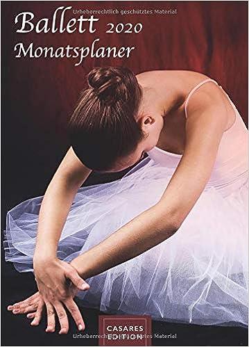 Ballett Monatsplaner 2020