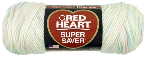 Price comparison product image Coats Yarn Red Heart Super Saver Yarn-Baby,  Other,  Multicoloured by Coats: Yarn