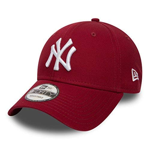 Unbekannt New Era 9forty Strapback Gorra MLB New York Yankees NY Cardinal/White, OSFA