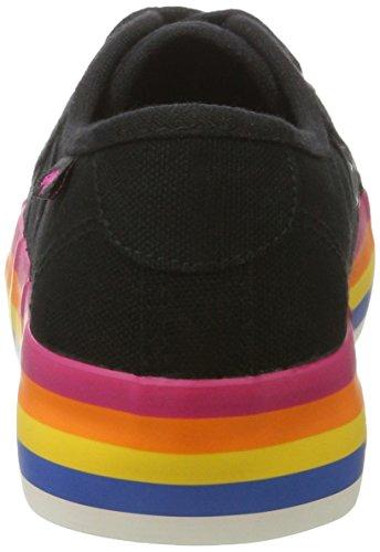 Raket Hond Damen Magic Sneaker Schwarz (zwart / Rainbow)