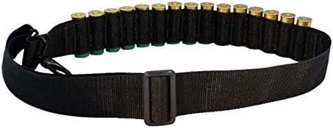 MOSSBERG 500 TACTICAL SHOTGUN AMMO SLING BANDOLEER 15 SHELL BLK Steel Sprg Hooks