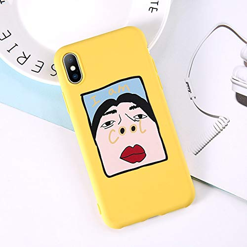 Lovebay Phone Case for iPhone 6 6s 7 8 Plus X XR XS Max Cute Cartoon