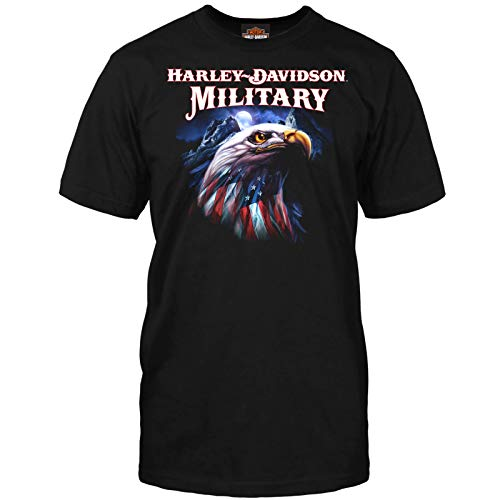 Harley-Davidson Military - Graphic Short-Sleeve T-Shirt - Overseas Tour   Patriot Eagle MD - Patriot Eagle T-shirt